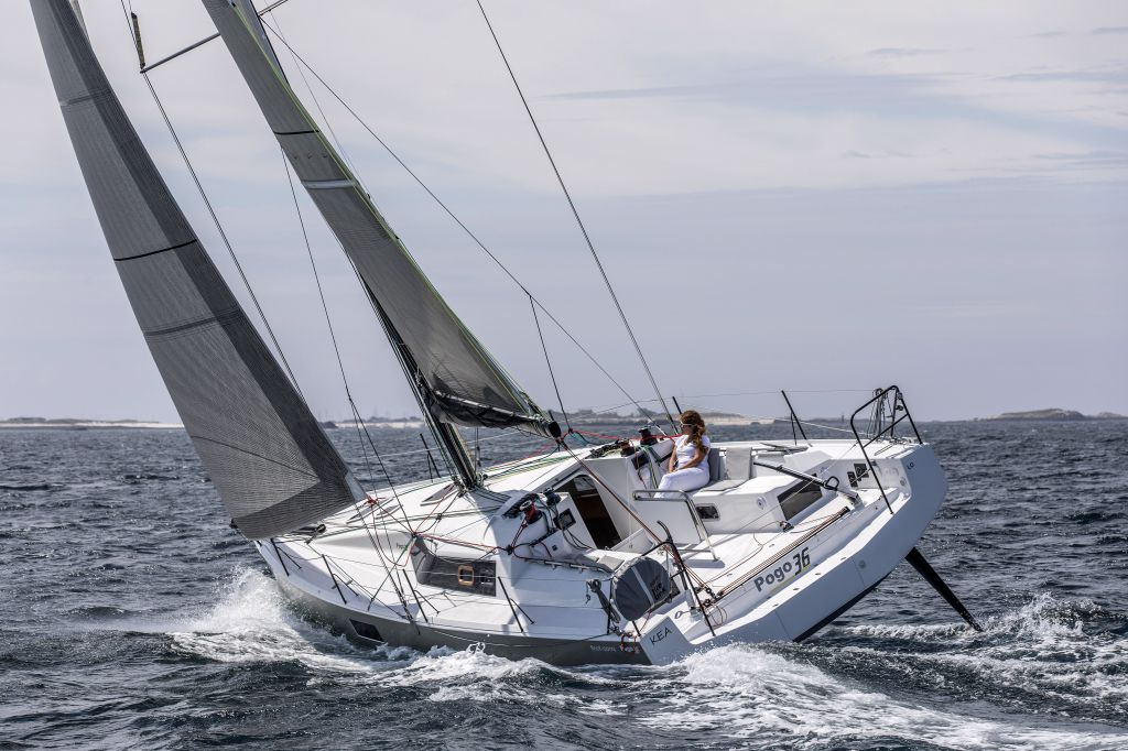 sailboat for rent pogo 36 sail fast experience